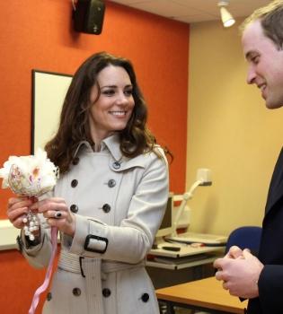 Kate Middleton podría elegir un sencillo ramo de flores blancas para su boda