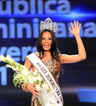 La nueva 'Miss República Dominicana', una estudiante de psicología de 21 años