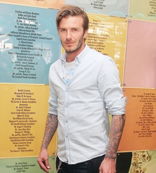 David Beckham le copia el 'look' a Aitor Ocio