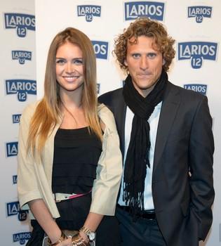 Diego Forlán anuncia que se casa con la modelo Zaira Nara
