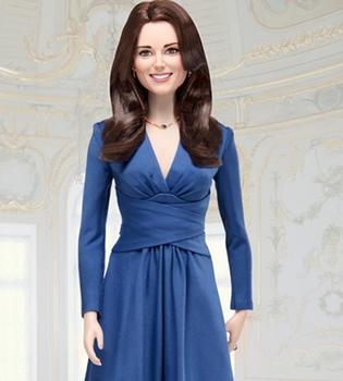 Kate Middleton y Lady Di se convierten en muñecas