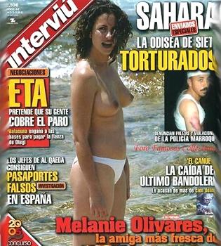'Interviú' no indemnizará a Melanie Olivares por sus fotos en top-less