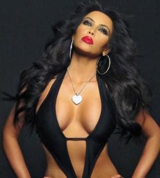 Kim Kardashian se estrena en el mundo de la música luciendo curvas