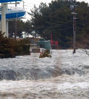La alerta de tsunami tras el terremoto de Japón se hace palpable en tierras rusas