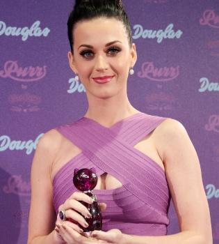 Katy Perry presenta 'Purr', su nuevo perfume, en Colonia, Alemania