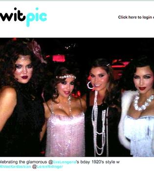 Eva Longoria celebra su cumpleaños con Kim Kardashian y Heidi Klum