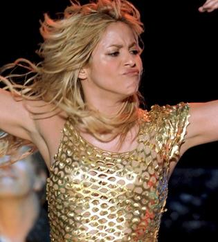 Shakira y Lenny Kravitz, en el 'Rock in Río 2011'