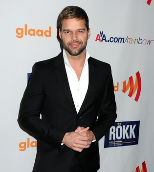 Ricky Martín, premiado en los GLAAD 2011