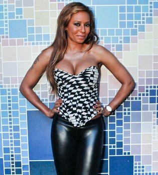 La ex Spice Girl Mel B está embarazada por tercera vez