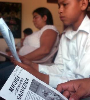 Más de 4.000 usuarios completan la primera lectura de 'El Quijote' en Youtube