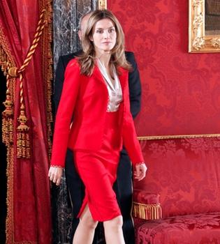 La primavera llega al vestuario de la Princesa Letizia