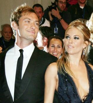Sienna Miller ya podría tener sustituto para Jude Law