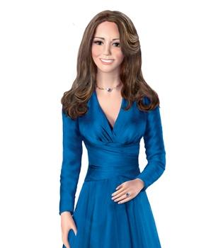 Kate Middleton, ahora en figura de porcelana