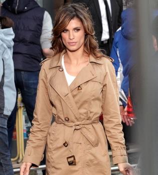Elisabetta Canalis, competencia 'cafetera' de George Clooney