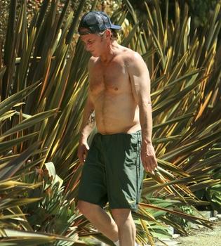 Sean Penn prepara su cuerpo para el verano