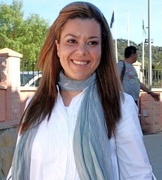 María José Campanario, en el banquillo de los acusados