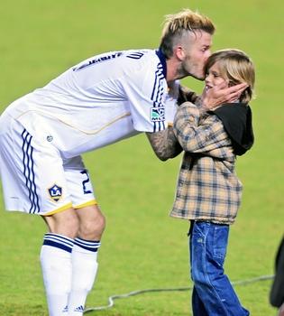 El hijo de Victoria y David Beckham pide llamar a su nueva hermana Justine Bieber