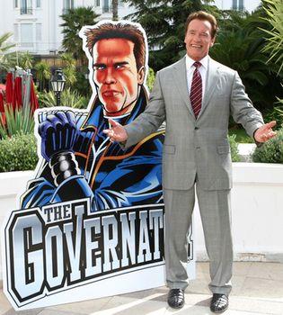 Arnold Schwarzenegger presenta en Cannes 'The Governator'
