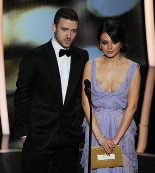 Mila Kunis y Justin Timberlake, pillados muy cariñosos