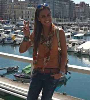 Lara Álvarez, muy feliz tras su ruptura con Sergio Ramos