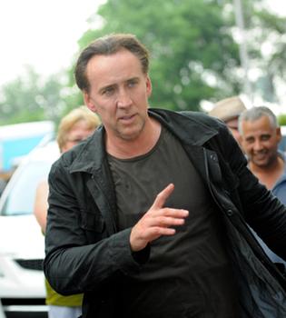 Nicolas Cage vuelve al set de rodaje después de su arresto