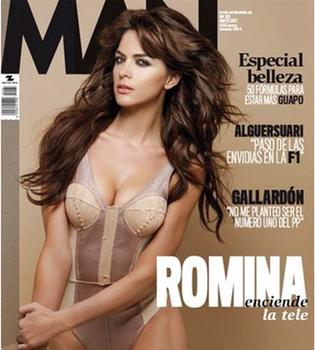 Romina Belluscio de 'Tonterías las justas' a la portada de 'Man'