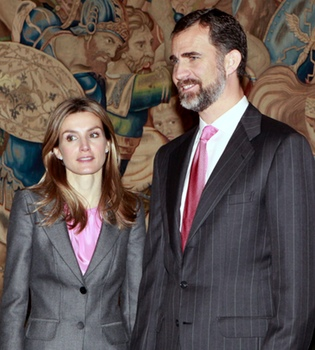 Los Príncipes de Asturias acudirán a la cena previa a la Boda Real