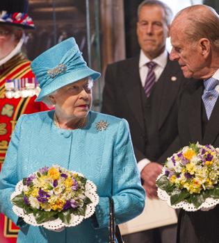 Ensayo general de la Boda Real durante el 85 cumpleaños de la Reina Isabel II