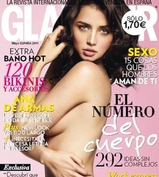 Ana de Armas posa desnuda para la revista 'Glamour'
