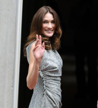 Rumores de embarazo para Carla Bruni y Nicolás Sarkozy