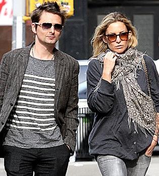 Kate Hudson se casará con Matthew Bellamy con tripita de embarazada