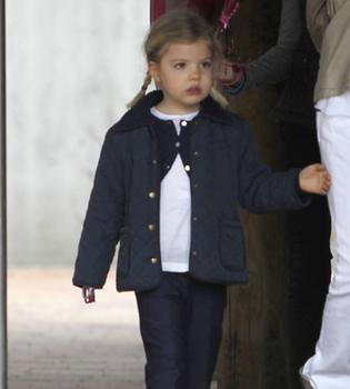 La Infanta Sofía cumple 4 años sin los Príncipes de Asturias