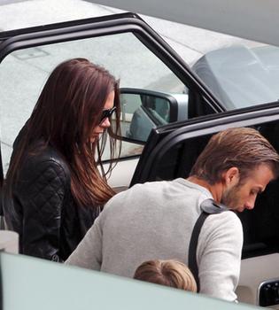 David y Victoria Beckham se preparan para la Boda Real