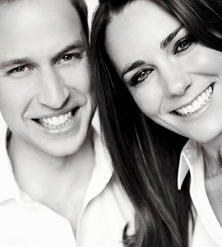 Última foto oficial de Kate Middleton y Guillermo como solteros