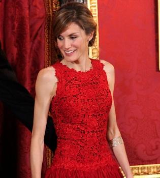 Como era de esperar, Letizia Ortiz vestirá de Felipe Varela en la Boda Real de Inglaterra