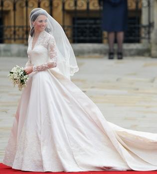 Kate Middleton desvela su mejor secreto: el vestido de boda