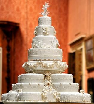 Así es la tarta nupcial de la boda de Guillermo de Inglaterra y Kate Middleton