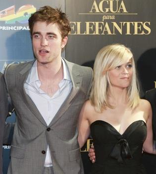 Robert Pattinson y Reese Witherspoon presentan en Barcelona 'Agua para elefantes'