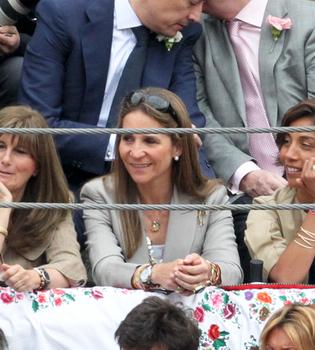 La Infanta Elena y Jaime de Marichalar coinciden en Las Ventas