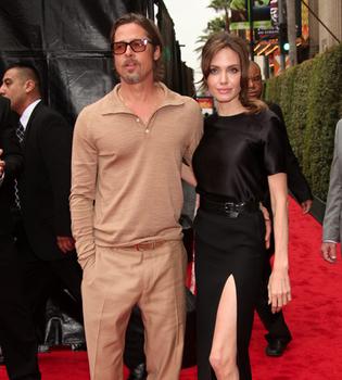 Angelina Jolie y Brad Pitt revolucionan el estreno de 'Kung Fu Panda 2'