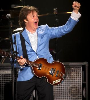 Éxito de Paul McCartney en su primer concierto en Río de Janeiro