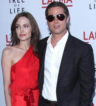 Brad Pitt sólo consigue manejar a cuatro de sus seis hijos a la vez