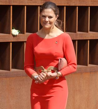 Victoria de Suecia reutiliza el vestido de su pedida de mano
