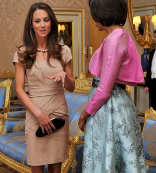 Agotado el vestido que Kate Middleton lució con Obama