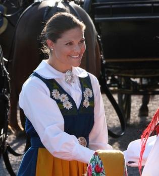 Magdalena de Suecia vuelve a casa para celebrar el Día Nacional de Suecia
