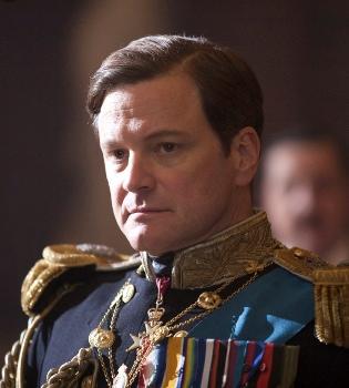 Colin Firth, condecorado por la reina Isabel II como Comandante del Imperio Británico