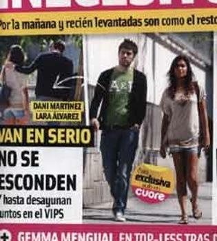 Lara Álvarez y Dani Martínez, ¿más que amigos?