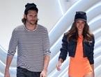 Alessandra Ambrosio y Asthon Kutcher se suben a la pasarela de Sao Paulo