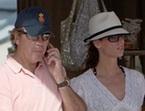Mar Saura disfruta del verano con su marido y su hija en Ibiza