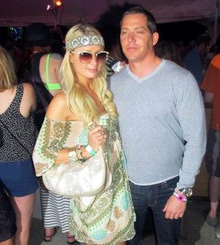 Paris Hilton y Cy Waits rompen su relación por el acoso mediático